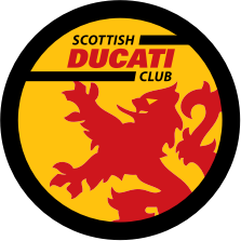 Scottish Ducati Club logo